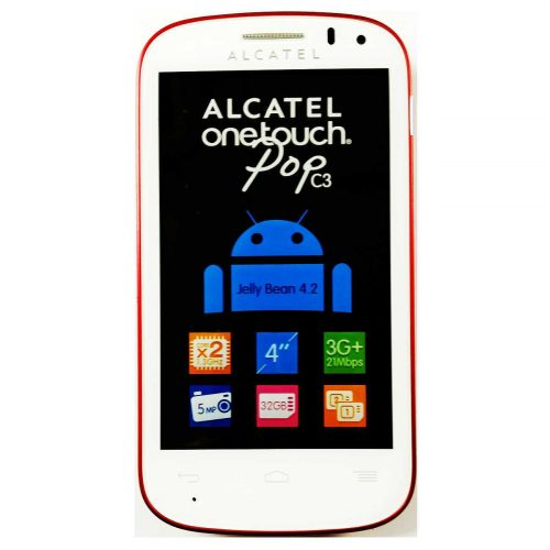 Alcatel One Touch Pop C3 Front View