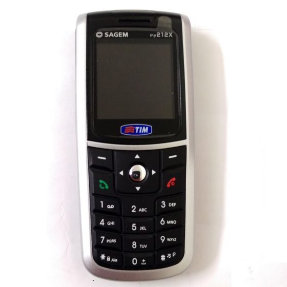 Sagem My210 Silver (1)