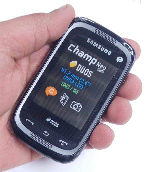 Samsung Champ Neo Duos C3262 Black