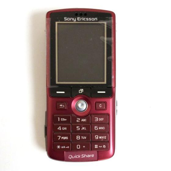 Sony Ericsson K750 Red