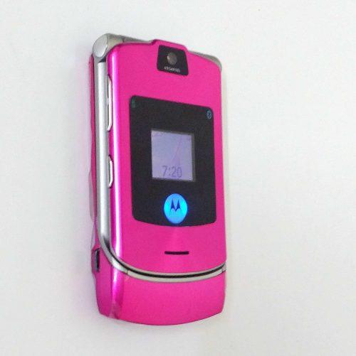 Motorola Razr V3i Pink (6)