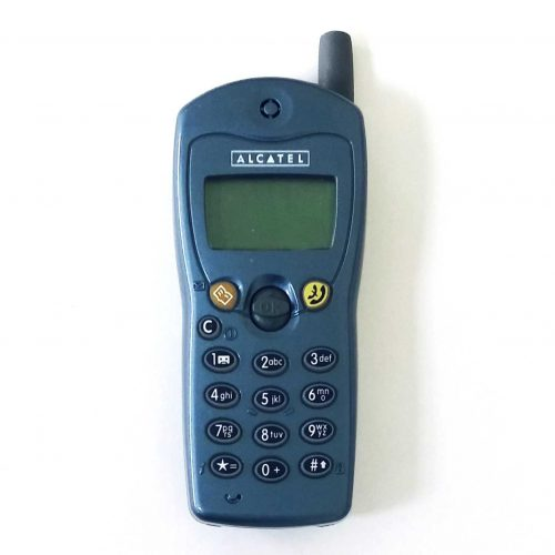 Alcatel OT301 Blue Big Button Old Collectible Phones