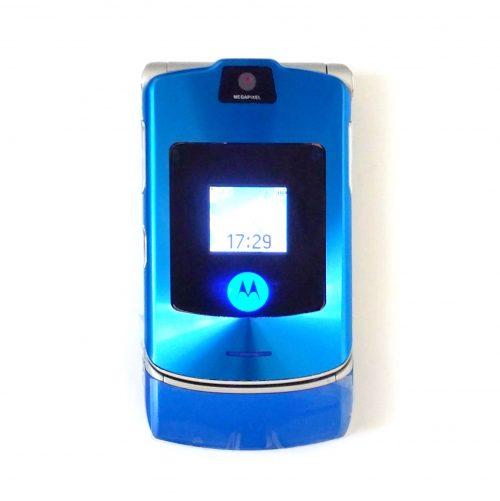 Motorola Razr V3i Blue