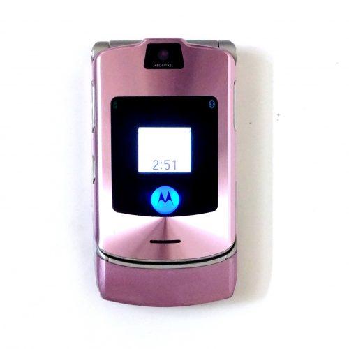 Motorola Razr V3i Orchid (2)